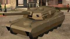 el Código en un tanque Rhino de GTA San Andreas