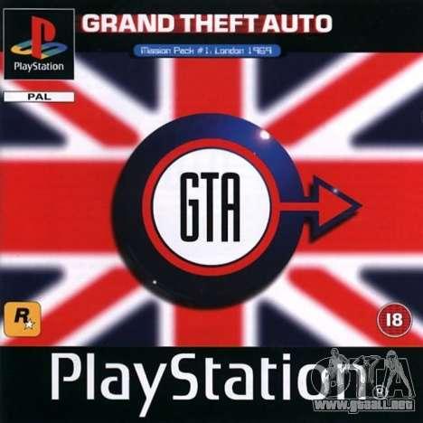 la Máquina del tiempo: lanzamiento de GTA London 1969 para Playstation