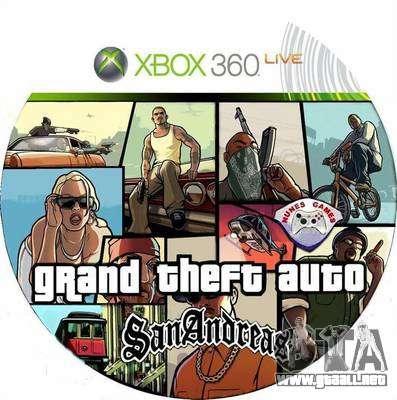 el Lanzamiento de GTA SA para la Xbox en Europa y Australia