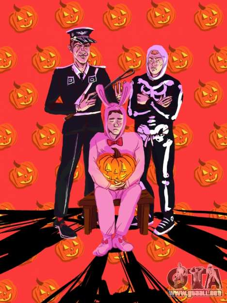Fan art GTA: Halloween