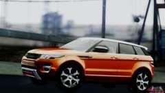 Range Rover Evoque 2014 para el GTA San Andreas