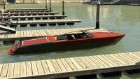 Pegassi Speeder de GTA 5 - vista lateral