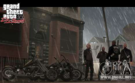 Rusos comunicados de GTA: TLAD PS3, PC