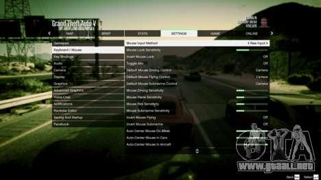 Consejos GTA 5, Online PC: configuración de los juegos