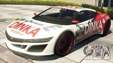 Dinka Jester Racecar