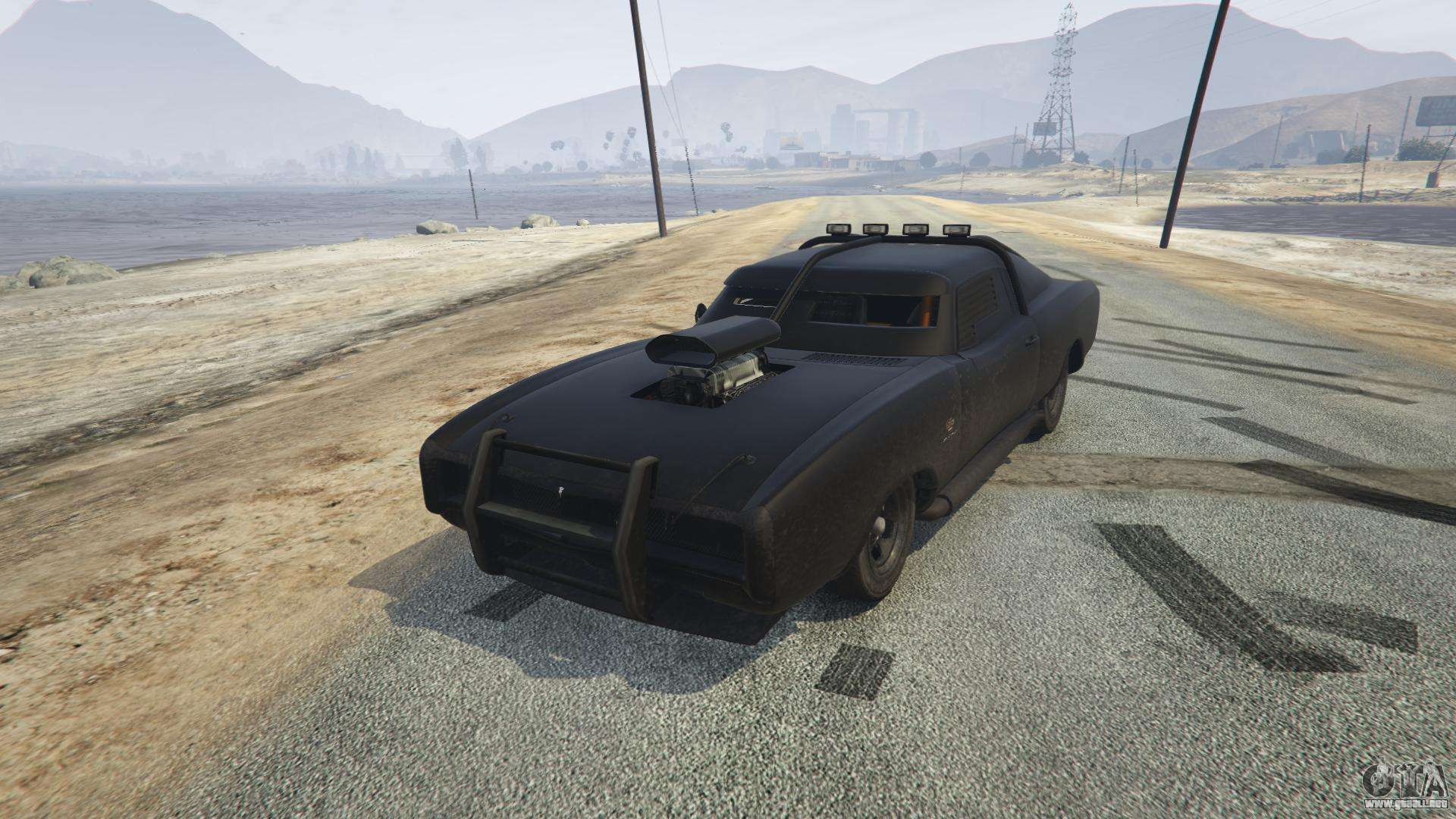 Duke O'Death de GTA 5 - vista frontal
