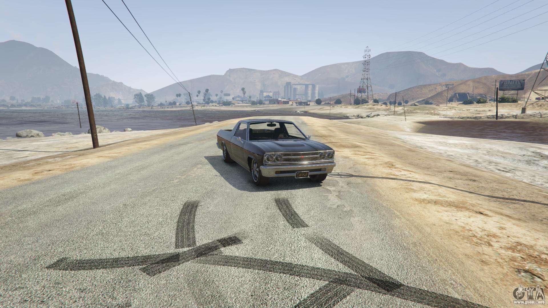 Picador de GTA 5 - vista frontal