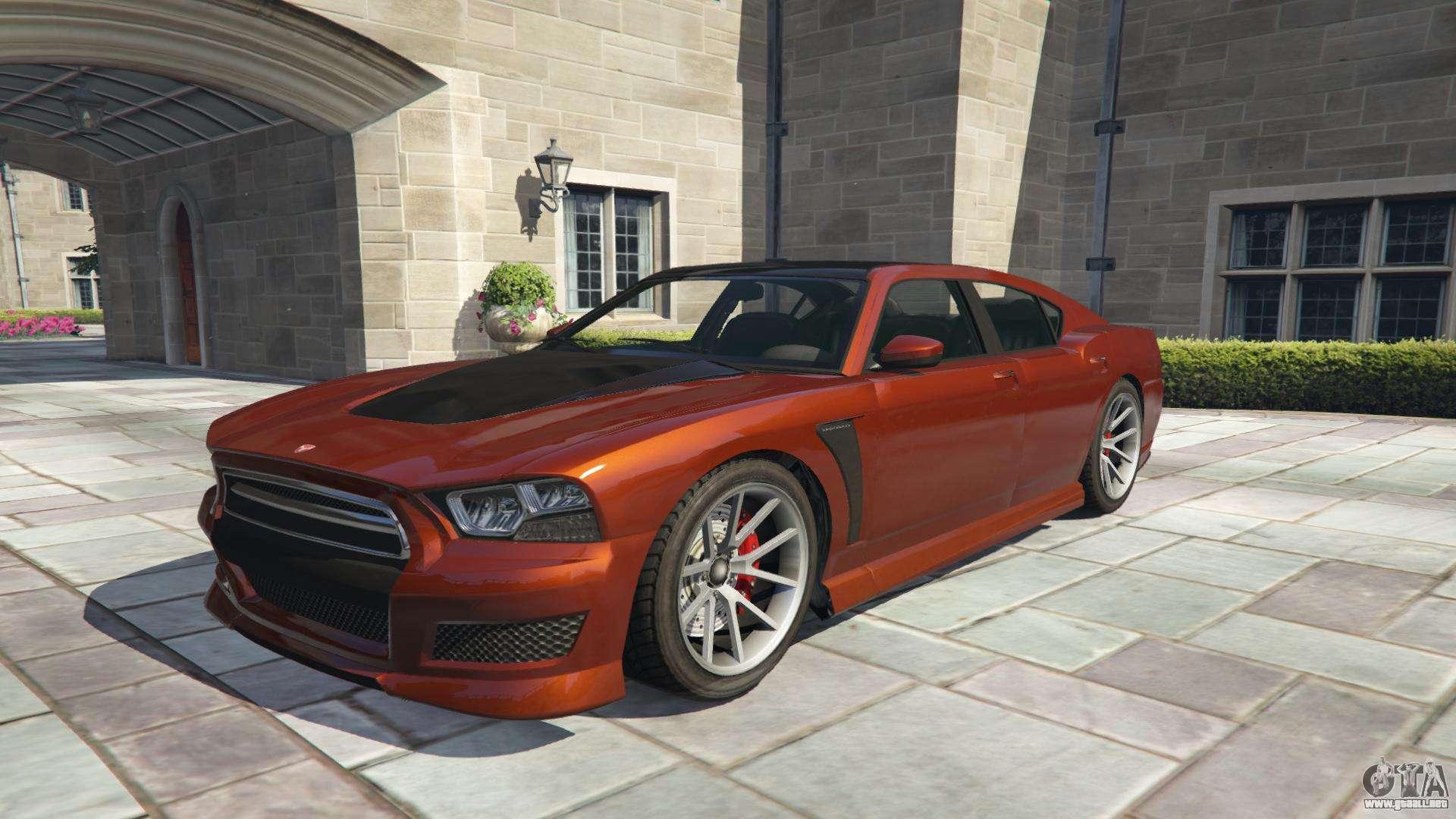 Bravado Buffalo S GTA 5 - vue de face