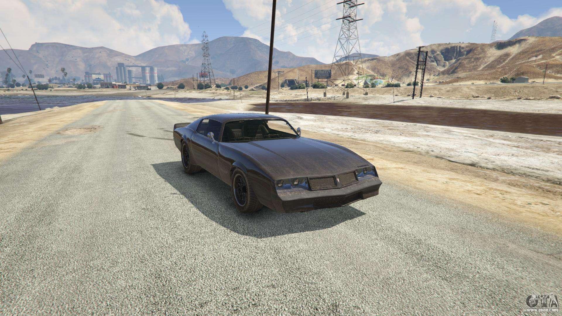 Phoenix de GTA 5 - vista frontal