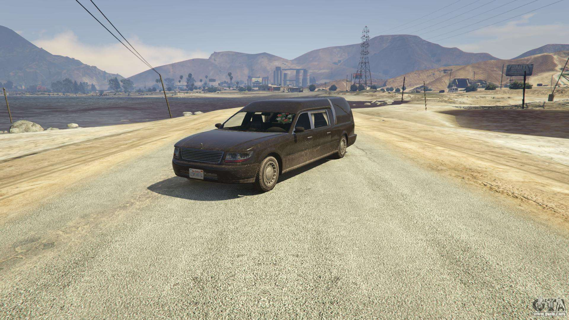 Carro Romero de GTA 5 - vista frontal