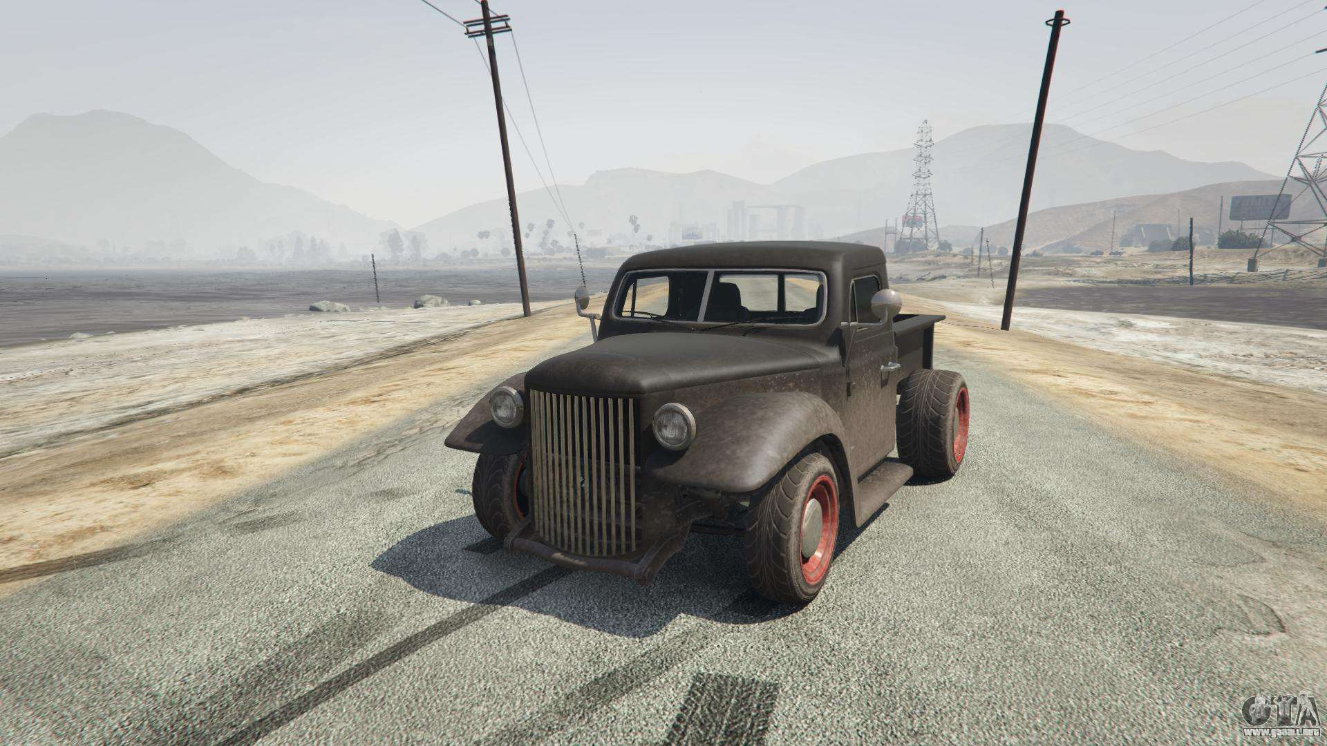 Rat-Truck de GTA 5 - vista frontal