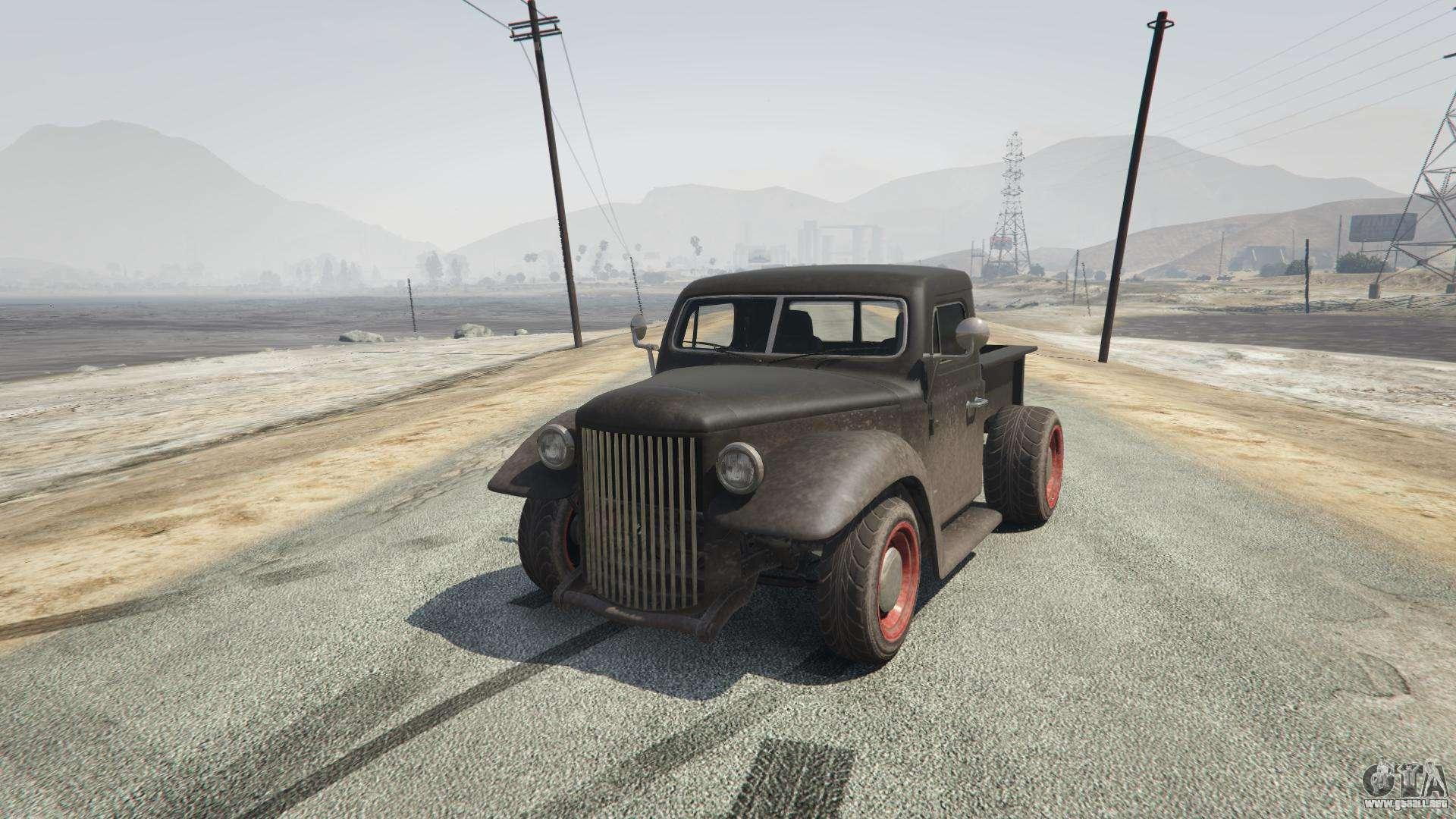 Rat-Truck de GTA 5 - vista frontal