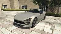 Lampadati Furore GT de GTA 5 - vista frontal