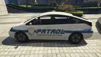 GTA 5 Karin diletante de la patrulla Merriweather - view -