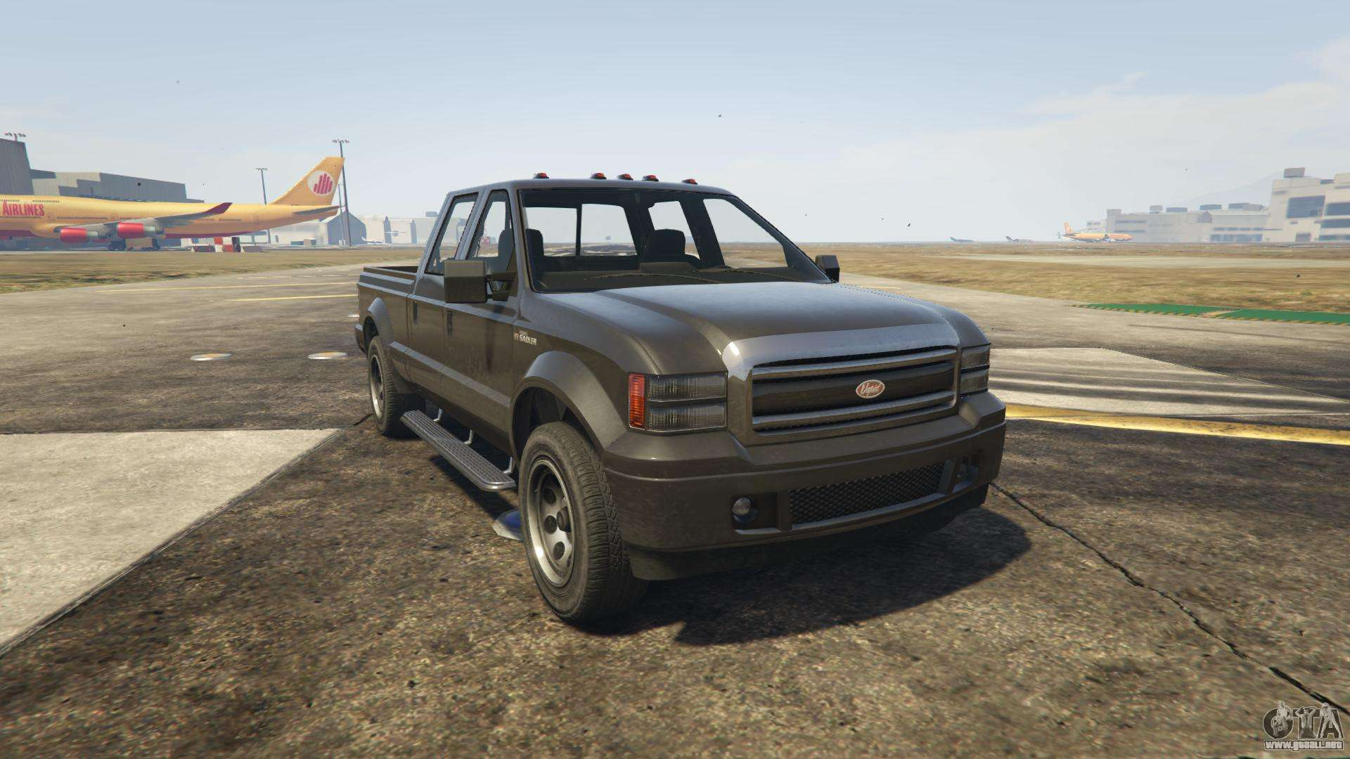 GTA 5 Vapid Sadler - vista frontal