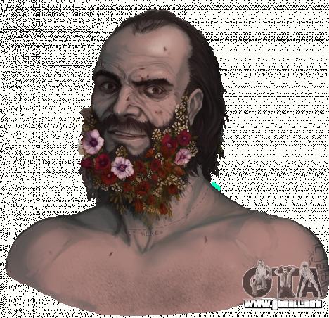 la Flor de la Barba de Trevor