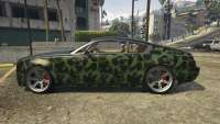 Enus Windsor de GTA 5 - vista lateral