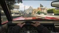 Vapid Chino de GTA 5: la vista desde la cabina