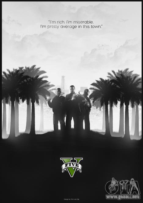 GTA 5 fan de póster