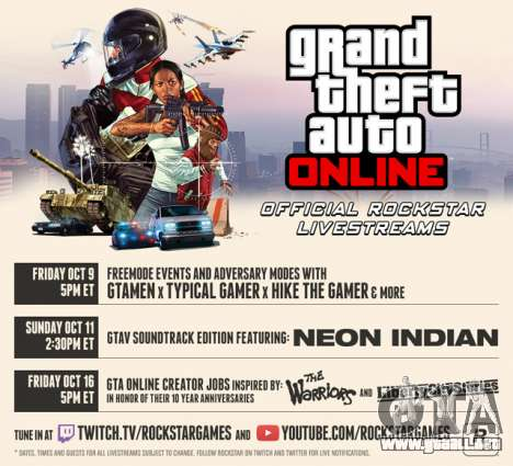 GTA Online Livestreams