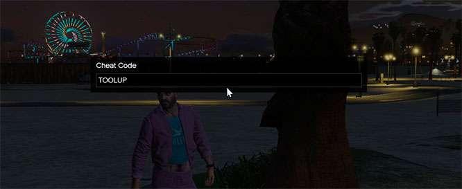 Como entrar en los codigos de trucos a traves de la consola de juego en GTA 5