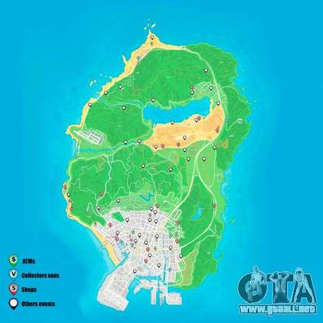eventos Aleatorios mapa de Grand Theft Auto 5