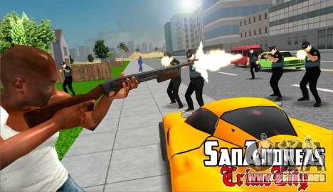 el San Andreas Crimen de la Ciudad