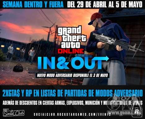 dentro y Fuera de la Semana de GTA Online