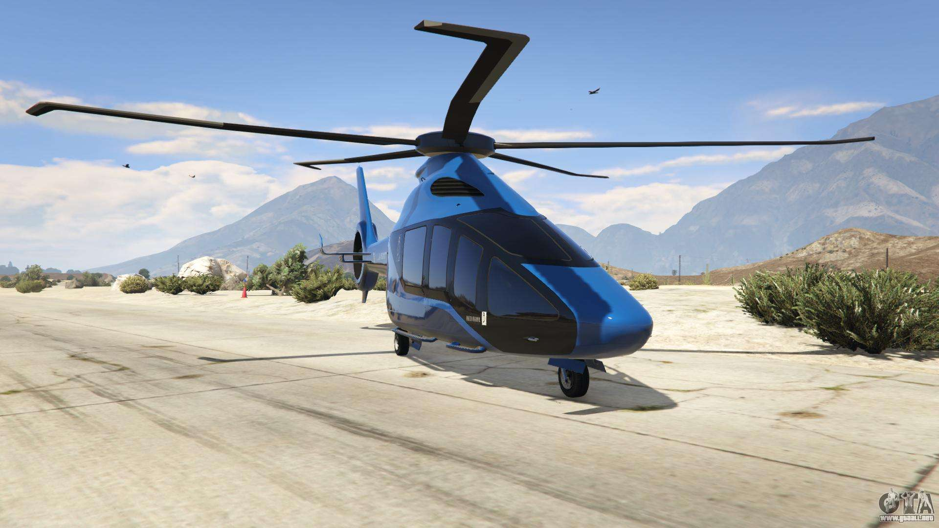 Buckingham Volatus de GTA Online - vista frontal