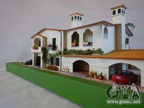 GTA V Michael Mansion por Arianm007 - fachada vista
