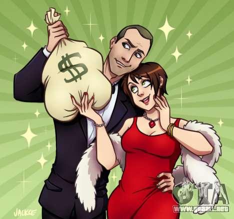 el Dinero y el Amor por Jackce-Arte