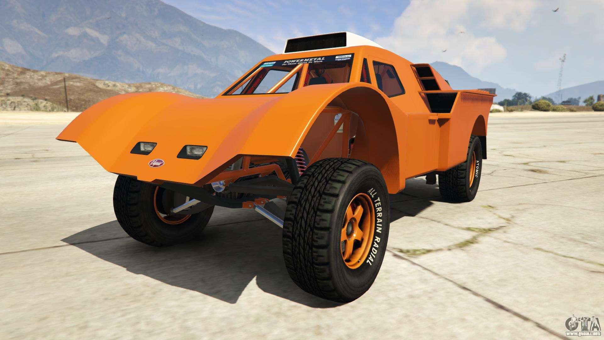 Vapid Desert Raid de GTA Online - vista frontal