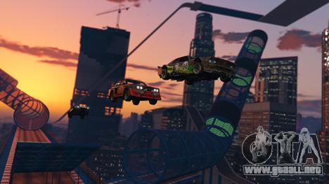 nueva raza de la ciudad desde el aire