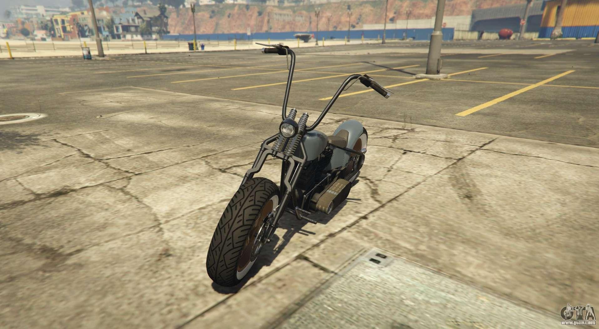 Western Zombie Bobber - bobber de la variación de la Zombie Chopper