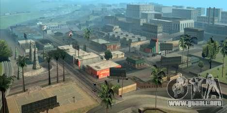 GTA San Andreas ayuda a usted orientarse en Los Ángeles