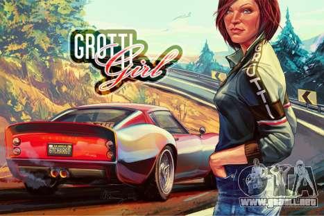 GTA 5: Grotti Girl por W_Flemming