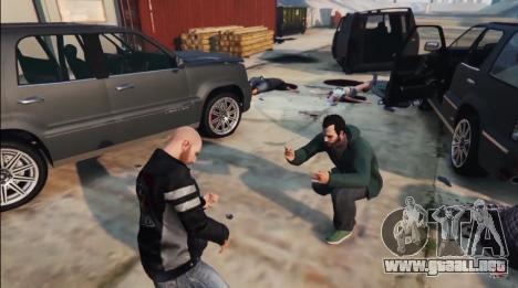 Después de los enfrentamientos en el GTA 5