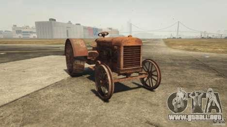 Oxidado tractor en GTA 5
