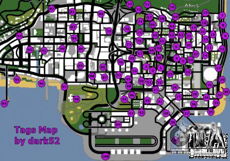 Mapa de graffiti
