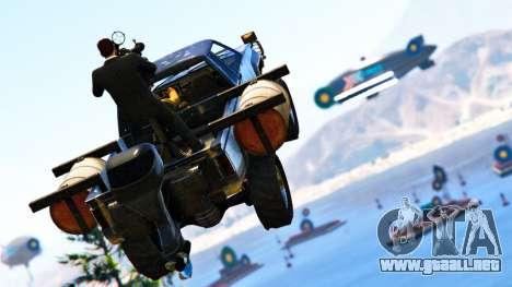Doble pago en el modo Carrera, con los blancos en GTA Online