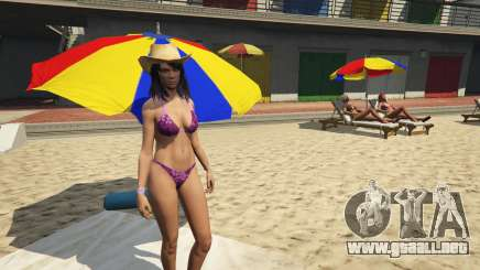 Nackt-Charakter en GTA 5 Online