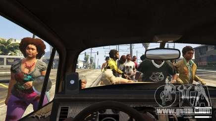 Ataque zombie en GTA 5