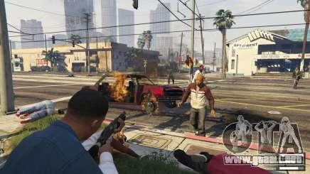 Zombies dans GTA 5