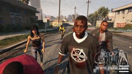 Apocalipsis zombie en GTA 5