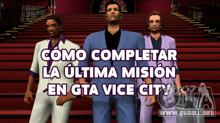 La última misión de GTA Vice city