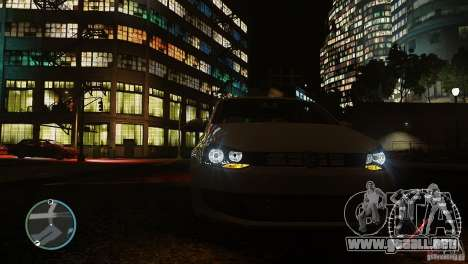 Volkswagen Polo para GTA 4 vista superior