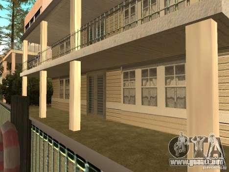 La casa modificada en la playa de Santa Maria 2. para GTA San Andreas sucesivamente de pantalla