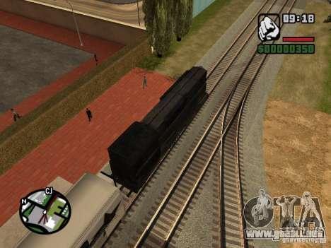 Combinar tren del juego Half-Life 2 para visión interna GTA San Andreas