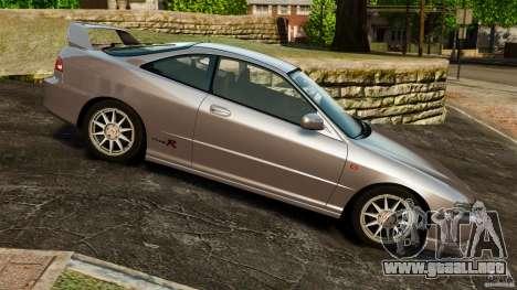 Honda Integra Type-R para GTA 4 left