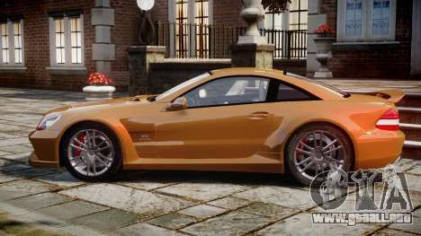 Mercedes-Benz SL65 AMG Black Series para GTA 4 left